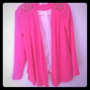 Hot Pink Bebe Blazer size S